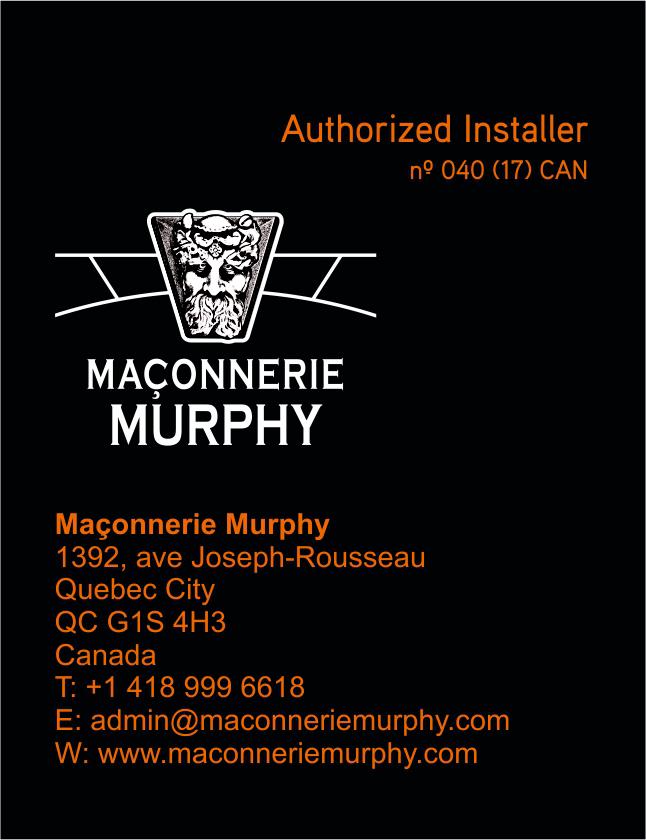 40 CAN Maconnerie Murphy